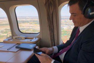 Sánchez se parapeta en la reforma de la Ley de Seguridad Nacional para tapar sus viajes con el Falcon