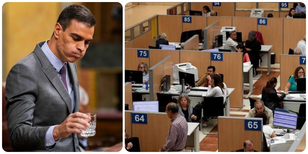 La red clientelar de Sánchez para perpetuarse en el poder: el empleo público alcanza máximos históricos
