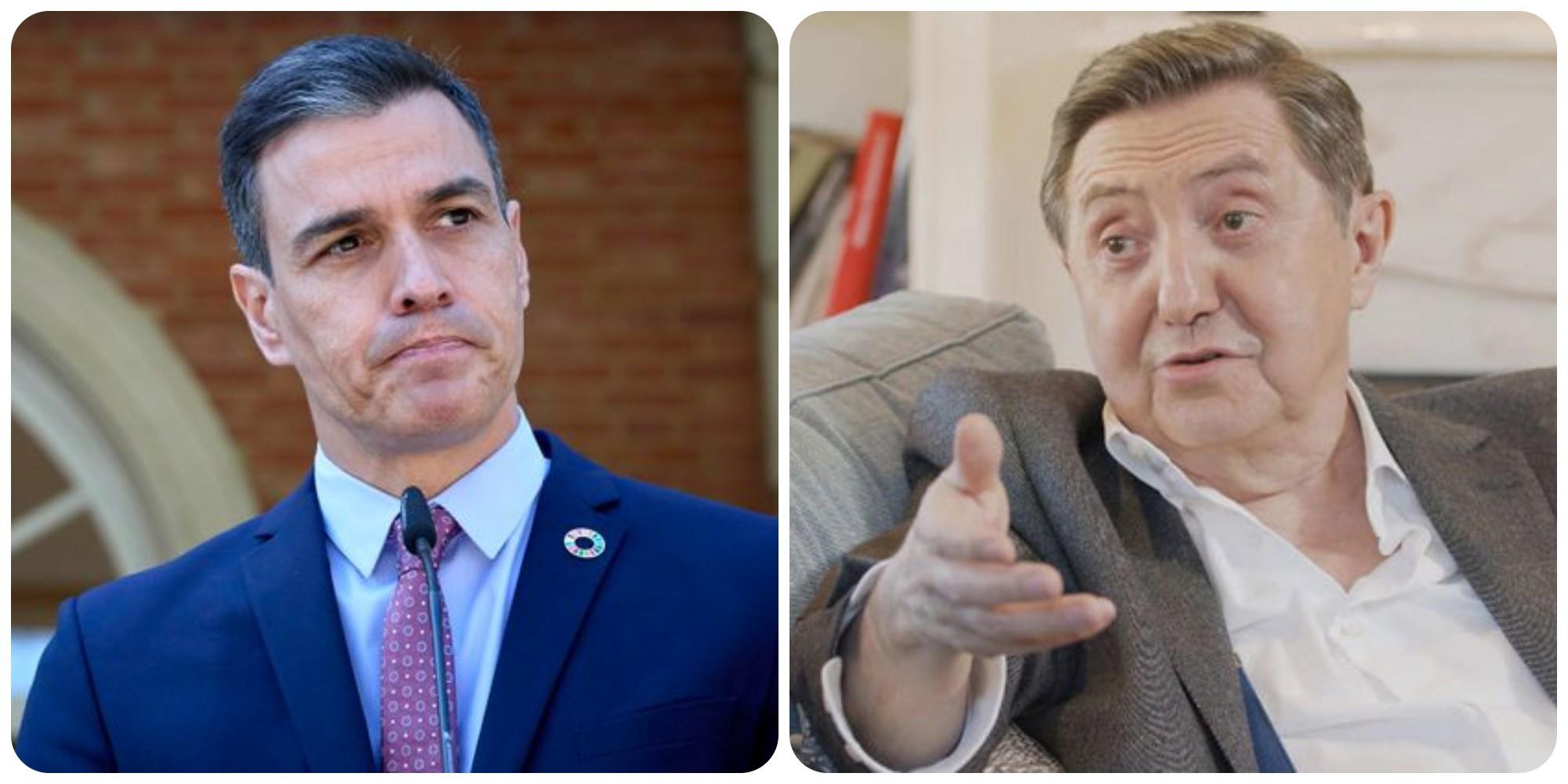 """Losantos: """"Sánchez prefiere alinearse con los asesinos de Cuba"""""""