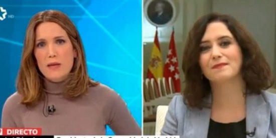 TVE premia a una enemiga de Díaz Ayuso: Silvia Intxaurrondo suple a 'Isobaras' López en 'La Hora de La 1'
