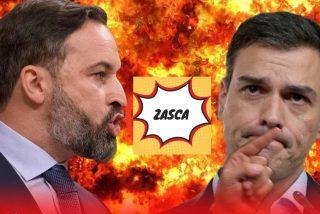 La tremenda tanda de sopapos que Abascal sacudió a Sánchez