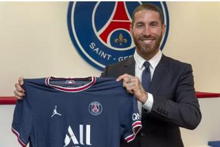 Sergio Ramos, el fichaje estrella del Paris Saint-Germain