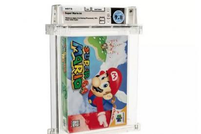 Una copia sellada de Super Mario 64, subastada por más de 1,5 millones de dólares