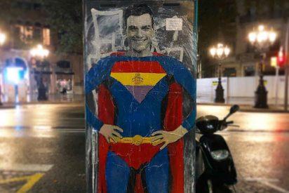 """Twitter ridiculiza a La SER por presumir del 'Superman' Pedro Sánchez """"que enamora a EEUU con su físico"""""""