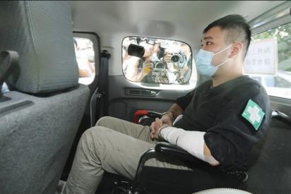 """China estrena su polémica 'ley de seguridad' acusando a un camarero de """"terrorista"""""""