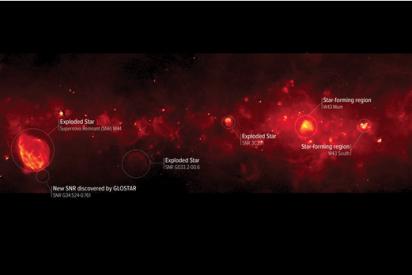 El 'secreto' desvelado en la Vía Láctea: una formación estelar nunca vista