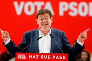 Encuesta: PP y VOX, a un solo escaño de echar al socialista Ximo Puig de la Generalitat Valenciana