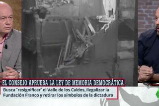laSexta quiere ganar la Guerra Civil: a Maestre la extremista Ley de Memoria Democrática se le antoja corta