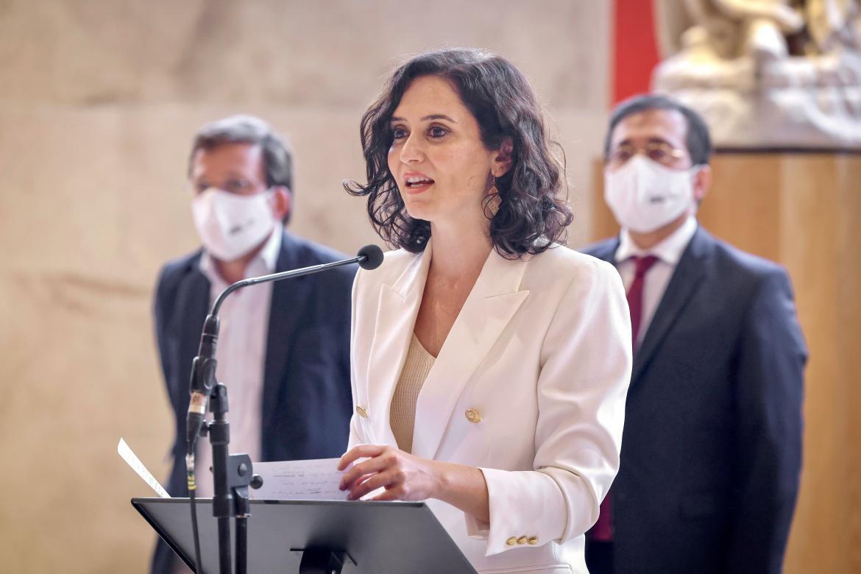 Ayuso celebró el reconocimiento del Paseo del Prado y El Retiro, como Patrimonio Mundial de la UNESCO