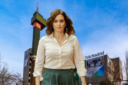 """Ayuso desmonta una 'exclusiva' de Telemadrid que comprometía a su Gobierno: """"Stop bulos"""""""