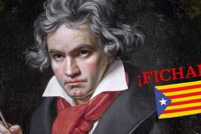 Nuevo desvarío independentista: se apropian de Beethoven como un catalán de pro