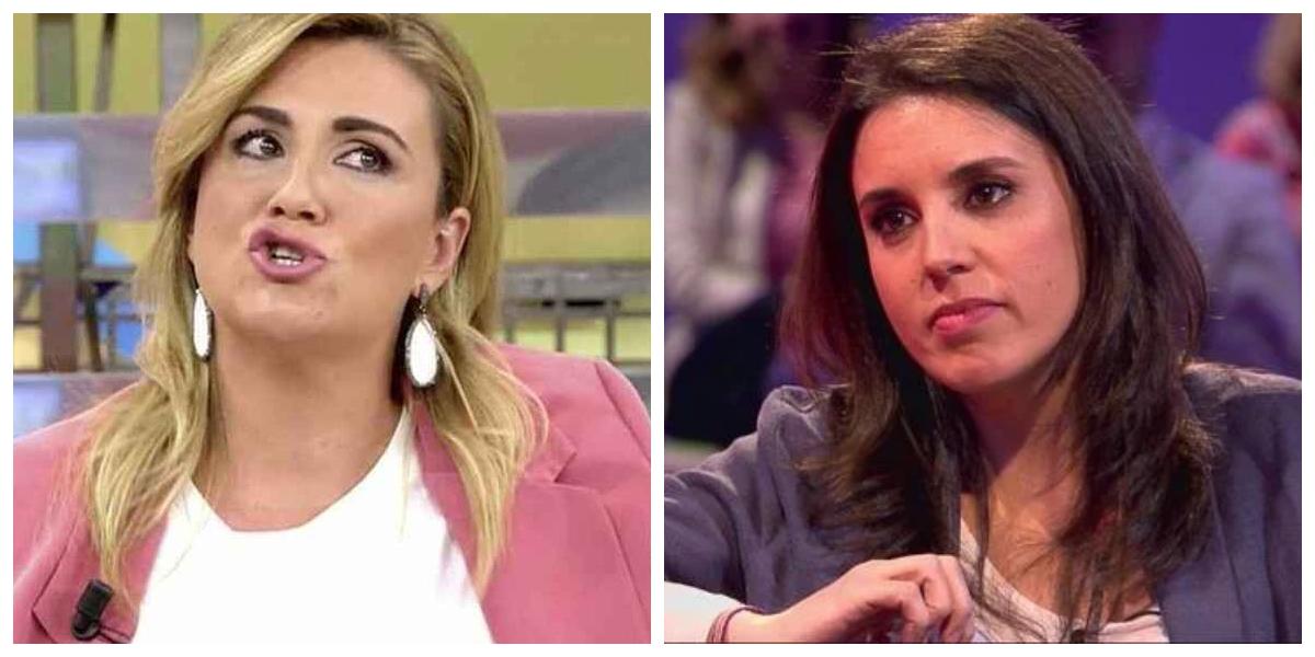 Aviso para Carlota Corredera e Irene Montero: Telecinco es lo peor que le ha pasado al feminismo