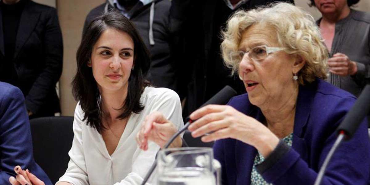 Rita Maestre intenta apuntar a Carmena el tanto del reconocimiento de la Unesco pero las redes la desenmascaran
