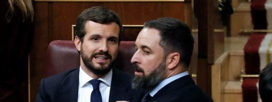 Losantos estalla contra el PP: vaticina un nefasto futuro para Casado por 'culpa' de Abascal