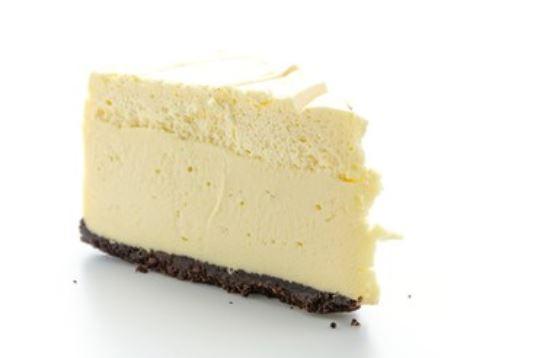 Receta de cheesecake de chocolate blanco