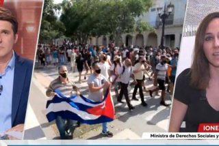 """Entrevista de besugos en TVE: """"¿Es Cuba una dictadura, señora Belarra?"""""""