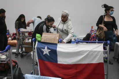 Chile registra menos de 2.000 casos diarios de COVID, su 'récord' desde 2020