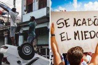 Cuba: las redes apoyan el levantamiento contra el comunismo y exigen a Pedro Sánchez su respaldo