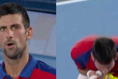 La presión no fue un privilegio para Djokovic: el serbio se queda sin el oro