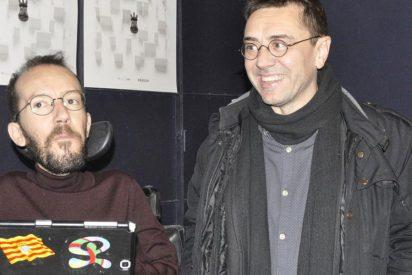 Dios los cría, y ellos se juntan: Echenique y Monedero 'santifican' a Cintora y Ruiz tras sus ceses