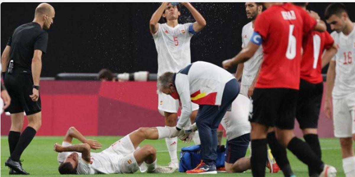 La primera en la frente: España debuta en los JJOO con un decepcionante empate ante Egipto