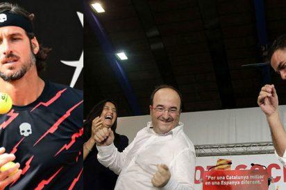 El sarcasmo de Feliciano López para 'felicitar' a Miquel Iceta que el nuevo ministro de Cultura y Deporte no pilló