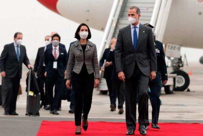 Felipe VI llegó al Perú para toma de mando de Pedro Castillo