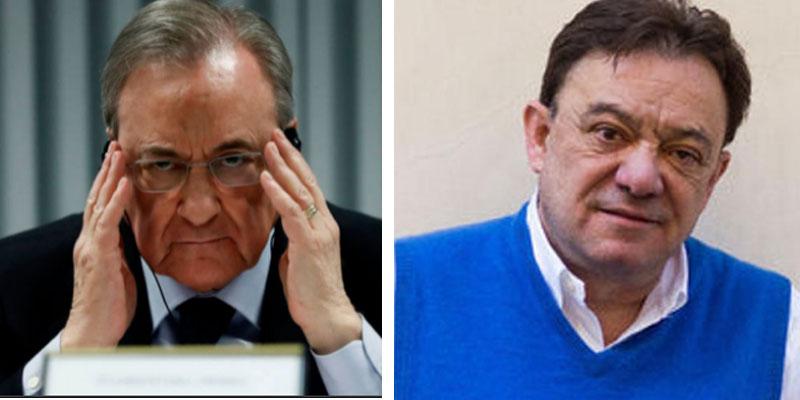 """Florentino acusa a Abellán de haberle grabado clandestinamente llamando """"estafas"""" a Casillas y Raúl"""