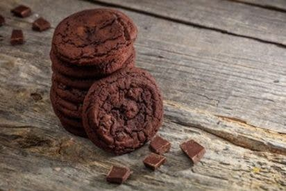 Receta de galletas de chocolate sin mantequilla