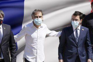 """Puigdemont, Junqueras y Aragonès conspiran en Francia y amenazan a Sánchez: """"Lo volveremos a hacer juntos y mejor"""""""