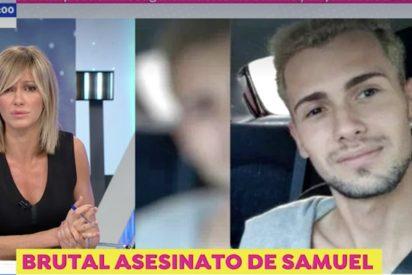 """El padre de Samuel, el joven asesinado en La Coruña, se rompe con Griso en Antena3: """"Es un ángel"""""""