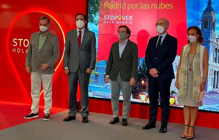 """El Ayuntamiento e Iberia reactivan """"Stopover, Hola Madrid"""""""