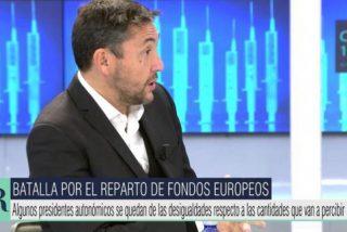 La izquierda convierte a Javier Ruiz en un mártir tras perder su silla en 'El programa de Ana Rosa'