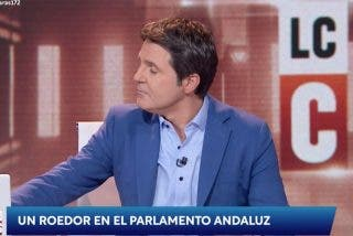 """El 'mártir' Cintora lloriquea en su adiós a TVE: """"Veremos a ver si nos dejan hacer el último programa"""""""