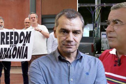 Jorge Javier Vázquez descalifica a Toni Cantó... y termina diciendo que está a favor de los indultos