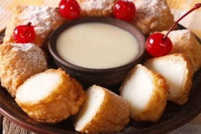 Leche frita gallega