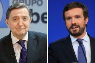 """Losantos: """"Casado se recrea en el silencio, disfrutando de la condena batasuna a VOX en Ceuta"""""""