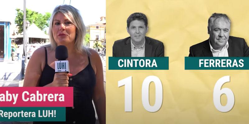 Esperpento: el panfleto de Dina se va a Vallecas para que la clase trabajadora ratifique a Cintora