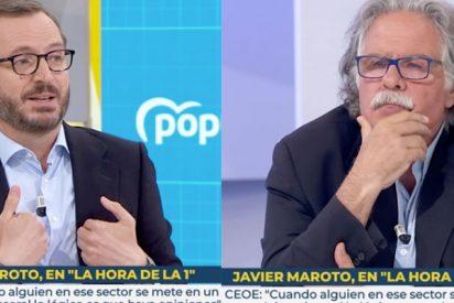 """Maroto frena a Tardá, otro habitual de TVE: """"Llamar fascistas a los votantes de VOX es su alusión"""""""
