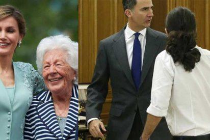 """La abuela de la reina Letizia: """"Le pregunté a Felipe que por qué recibió al gilipollas del 'Coletas' en mangas de camisa"""""""