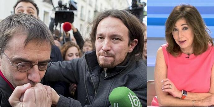 """Monedero festeja los nuevos ataques de Iglesias contra los medios: """"Ahora, Ana Rosa deberá ir a los juzgados"""""""