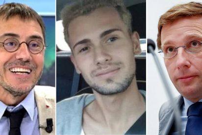 Almeida manda a Monedero al estercolero por acusarle de no colgar la bandera LGTBI y vincularlo con el asesinato en La Coruña