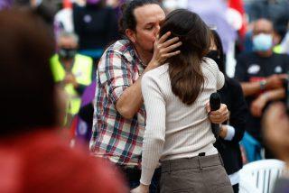 La nueva 'amiga íntima' de Pablo Iglesias 'tumba' al Gobierno de Sánchez y pulveriza Podemos