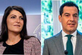 """Olona (VOX) advierte a Juanma Moreno del 'golpe de Estado' que el PSOE y Ciudadanos le preparan: """"Vuelve la tiranía roja"""""""