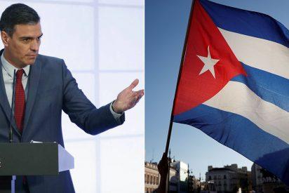 """Pedro Sánchez donó a Cuba 57 millones de euros en 2019 para """"promover el estado de derecho"""""""