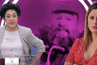 """Una diputada y una portavoz de Podemos, de rodillas ante la tiranía: """"Cuba no es una dictadura"""""""