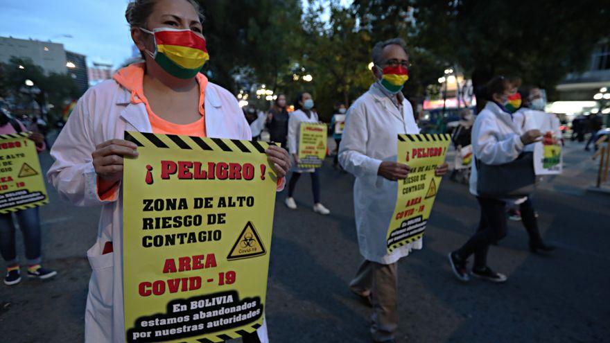Bolivia sufre una avalancha de protestas por la escases de la segunda dosis de la vacuna rusa Sputnik V