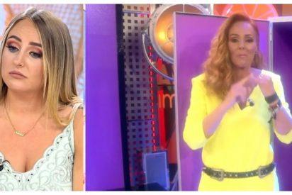 Momentazo del año: ¡Rocío Carrasco y Rocío Flores ya han coincidido en los pasillos de Telecinco!