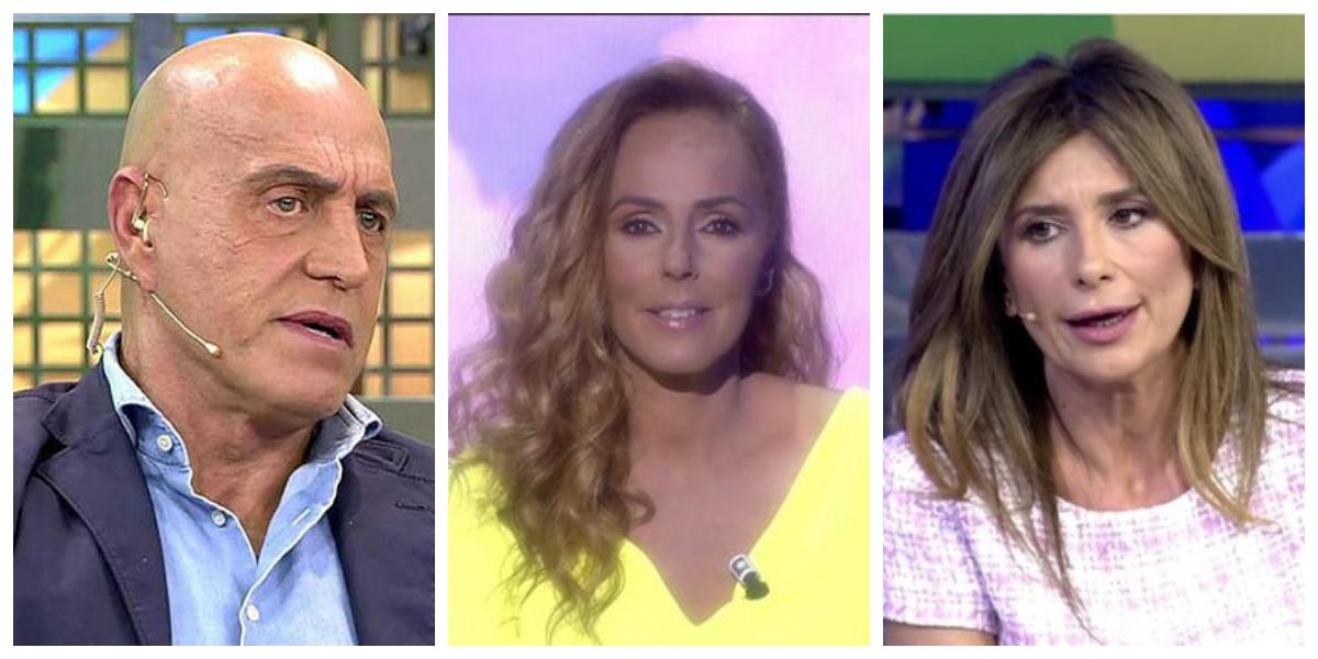 Así ha sido el estreno de Rocío Carrasco en 'Sálvame': ridículo y ataques a Gema López y a Kiko Matamoros