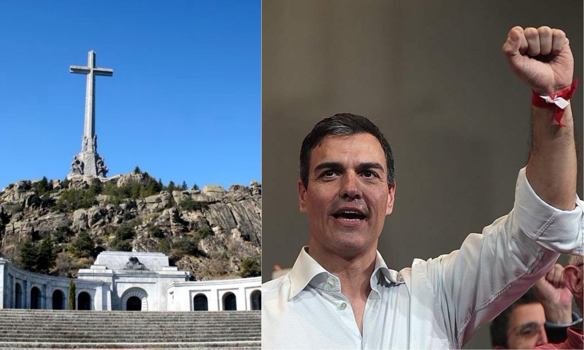 """La Iglesia hunde a Sánchez y denuncia internacionalmente al Gobierno: """"El Valle de los Caídos no se toca"""""""